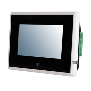 "IOVU-430S 4.3"" RISC Based Fanless Touch Panel PC"