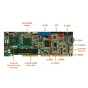 Picture of WSB-9452 PICMG 1.0 Full-Size CPU Card