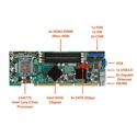 Picture of WSB-9454 PICMG 1.0 Full-Size CPU Card