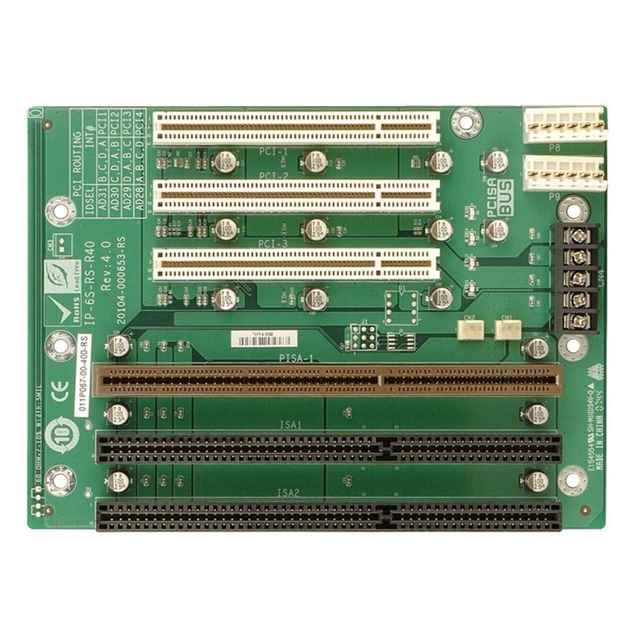 1pcs Used IPC Bottom Board PCI-6S-RS-R31 REV 3.1