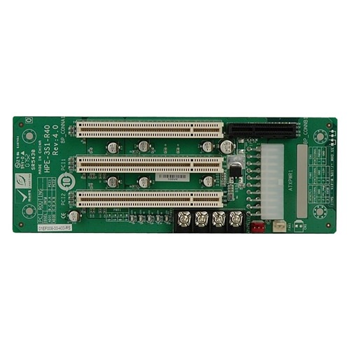Picture of HPE-3S1 PICMG 1.3 Half-Size Passive Backplane