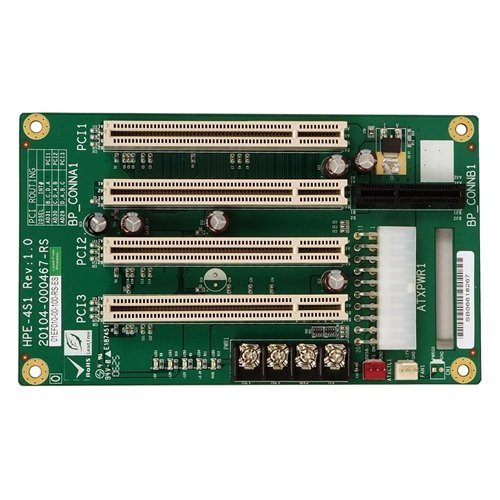 Picture of HPE-4S1 PICMG 1.3 Half-Size Passive Backplane