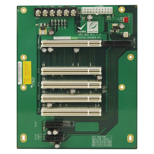 Picture of HPE-8S0 PICMG 1.3 Half-Size Passive Backplane
