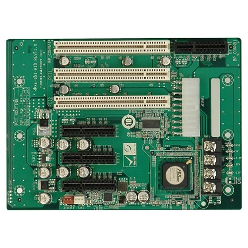 Picture of HPXE-6S1 PICMG 1.3 Half-Size Passive Backplane