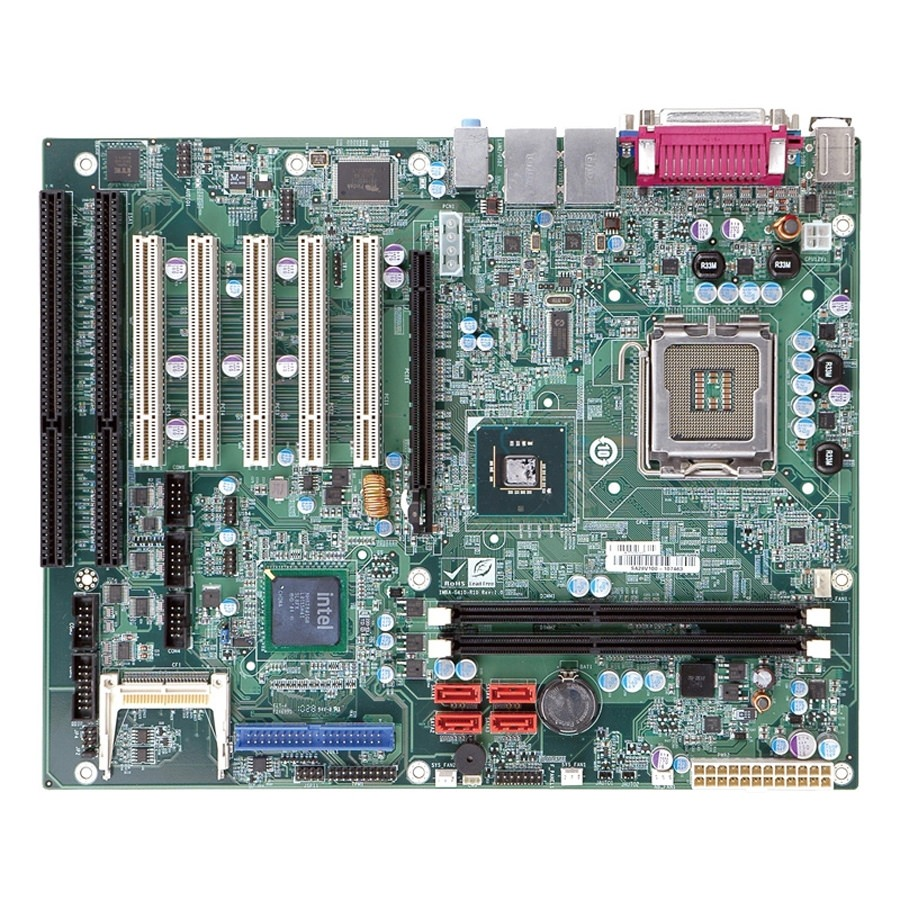 Industrial pc with isa slots