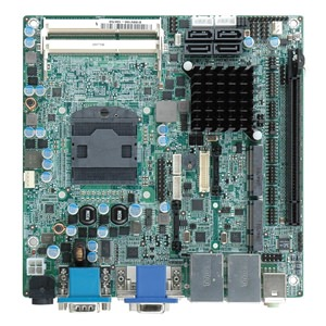 KINO-HM551 Industrial Mini-ITX Motherboard