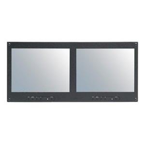 "RMM-102N Dual 10.4"" Rackmount LCD Monitor"