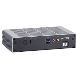 eBOX625-853-FL Fanless Embedded PC Front