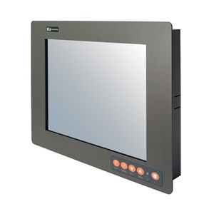 "P6153 15"" Industrial LCD Monitor Side"