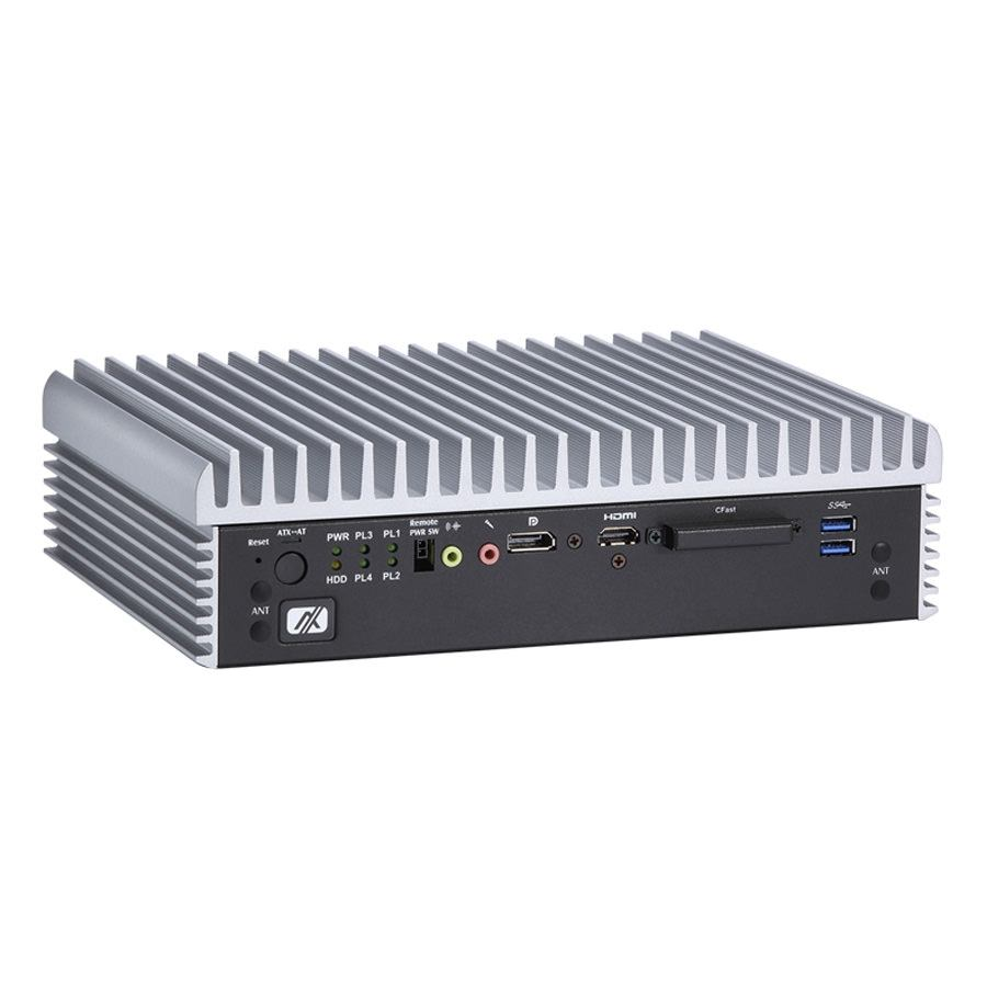 eBOX670-891-FL Fanless Embedded PC